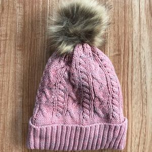 Accessories - Pink Pom Beanie